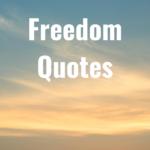 33 Freedom Quotes